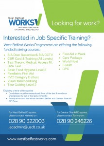 West Belfast Works Unemployed training