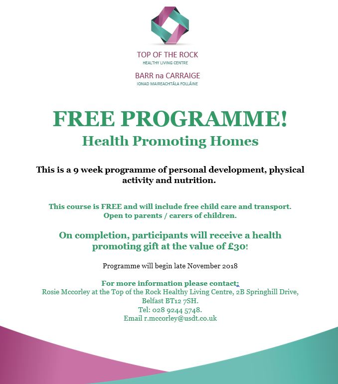 Health Promoting Homes programme